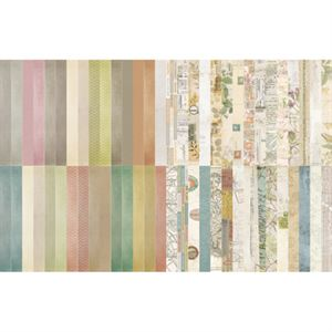 Picture of Pocket Vintage Border Strips by Katie Pertiet - Set 30